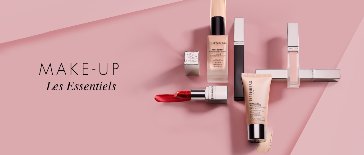 range of make-up skincare hybrid products against a pink background